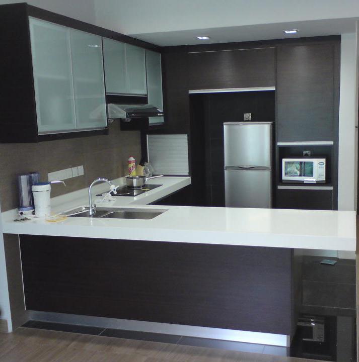 Contoh Gambar Kabinet Dapur Kitchen Cabinet Design Pictures